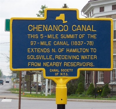 Canal historical marker picture400pxw
